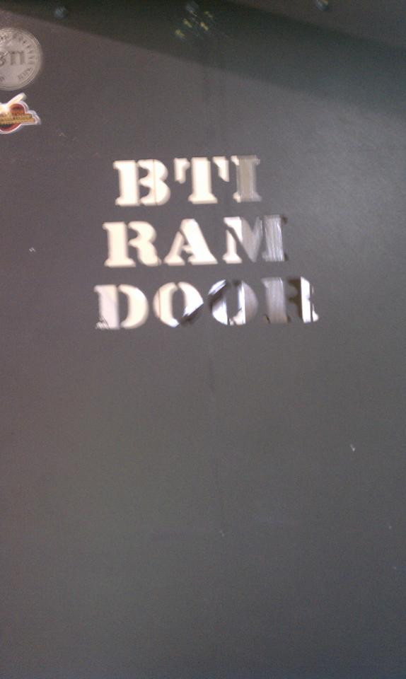 Training Ram Door
