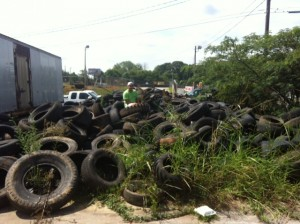 Tire Removal and Recycle