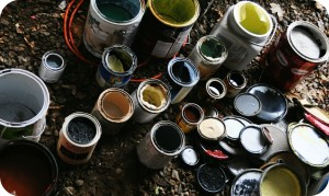 Disposing Old Paint Junk Removal
