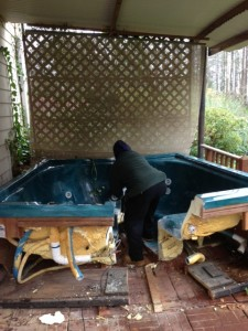 Hot Tub Removal Duluth