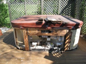 hot tub removal woodstock